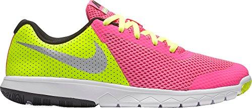 Nike Flex Experience 5 (GS), Chaussures de Course Femme Rosa (Pink Blast / Metallic Silver-volt-black)