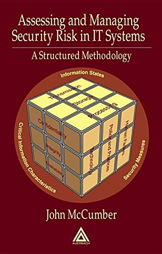Assessing & Managing Security Risk in IT Systems - A Structured Methodology (05) by McCumber, John [Hardcover (2004)