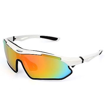 7bcc3f68fd Lixada Gafas de Sol polarizadas para Ciclismo, protección UV400, para  conducción, Golf, Motociclismo, Pesca, Patinaje, esquí, Viajes, etc.