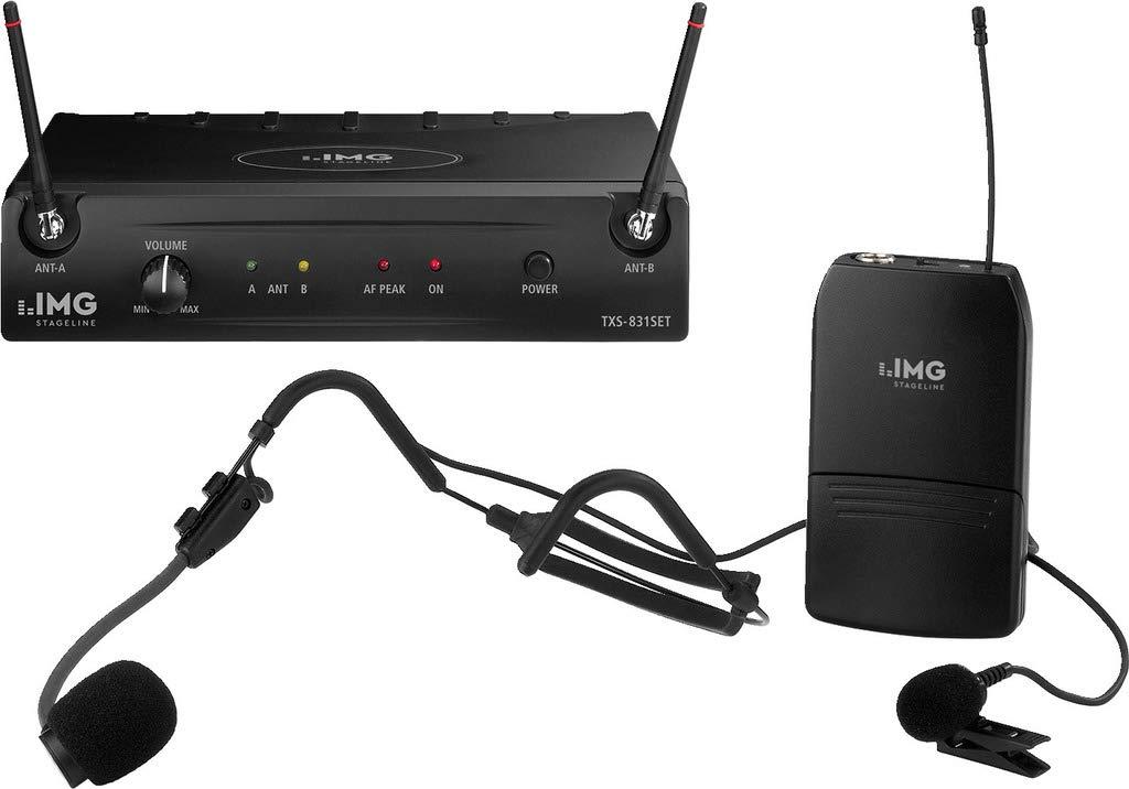 IMG STAGELINE TXS-606HSE Multi-Frequenz-Taschensender schwarz