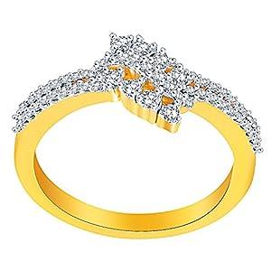 Giantti Women's 14KT Diamond Ring - IGL Certified (0.273 Ct, I1 Clarity, GH-Colour)