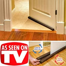 Door Draft Stopper,Door Closers for Gap,Extreme Energy Saving Guard,Brown in Home - Decor
