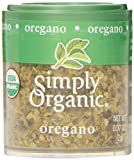 Simply Organic Oregano Leaf Cut & Sifted Certified Organic, 0.07-Ounce Containers (Pack of 6)