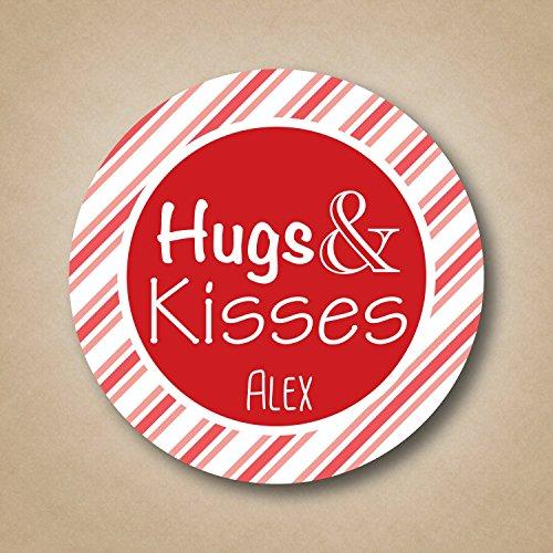 Kisses Cocoa Hot - Hugs & Kisses - Valentine's Stickers