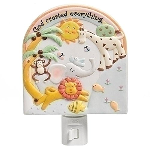 Roman Inc. 5.75''h GOD Created Everything Wall Night Light by Unknown
