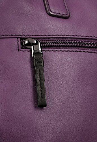 BREE, Borsetta da polso donna nero black smooth 32 cm x 22 cm x 11 cm (B x H x T) black smooth