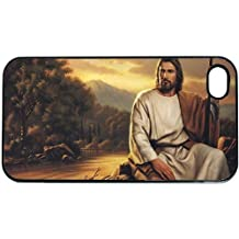 Christian Jesus Apple iPhone 5 or 5s PLASTIC cell phone Case / Cover Great Gift Idea