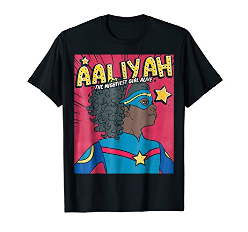 Aaliyah the Superhero I Birthday Girl I Superhero T-Shirt for sale  Delivered anywhere in USA