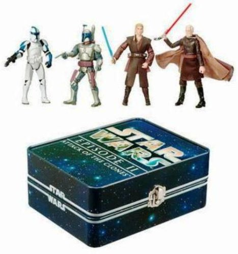 Star Wars Episode 2 Collectible Tin - Hasbro Star Wars Episode