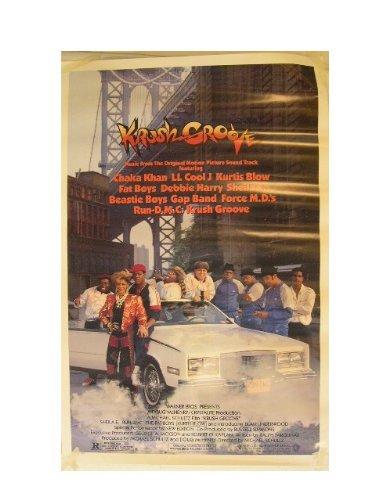 Krush Groove Poster Crush Krushgroove Run Dmc Sheila E