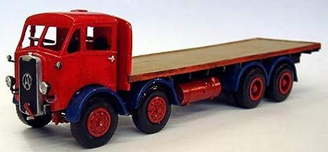 Langley Models Atkinson L1585 8 rueda plana camión O escala sin pintar Kit M19