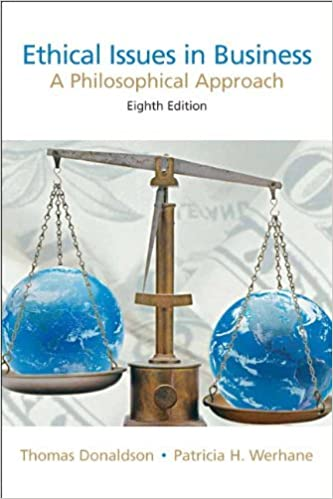 Ethical Issues in Business: A Philosophical Approach (8th Edition) (2007-06-21)