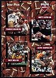 Football NFL 1991 Star Pics #109 Charles McRae/Brett Favre/Nick Bell/Alvin Harper
