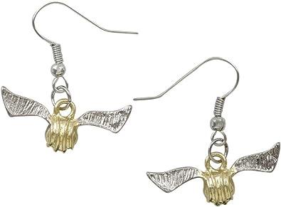 Harry Potter Jewellery Golden Snitch Earrings