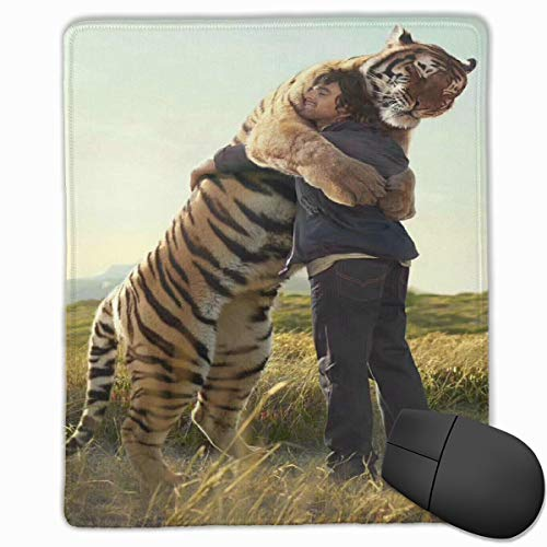 (Zhiwei Station Tiger and Human Personalized Mouse Pad - Add Pictures, Text, Logo Or Art Design and Make Your Own Customized Mousepad)