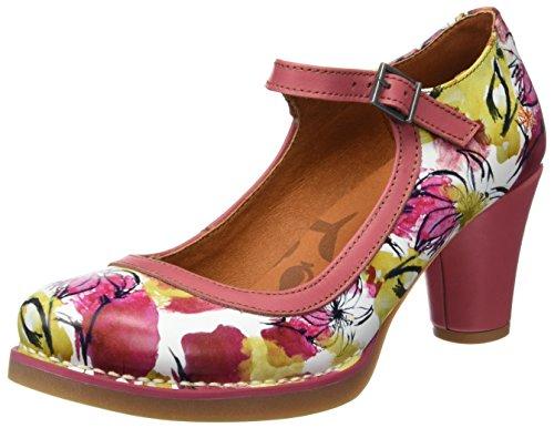 Art Dames 1070 Fantasie St.tropez Hoge Hakken Met Gesloten Tip Veelkleurige (bloemen)