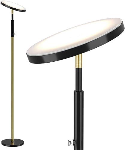 Deeplite LED Torchiere Floor Lamp