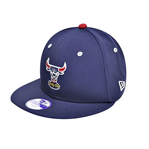 New Era Chicago Bulls Olympic USA Youth Kids Snapback Hat Cap NBA Navy Blue 70345029 (Size os) - Mens Navy Blue Bull