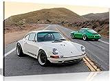Porsche Singer 911 Canvas Wall Art Picture Print...