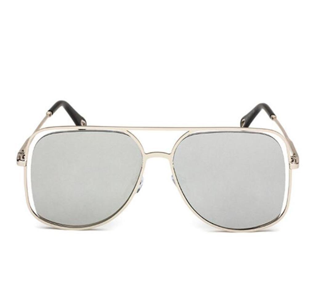 WYFC Lunettes de soleil pour femmes, lunettes de soleil polarisées style européen et américain en métal , c