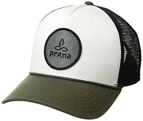 prAna Unisex Patch Logo Trucker, Cargo Green, One Size