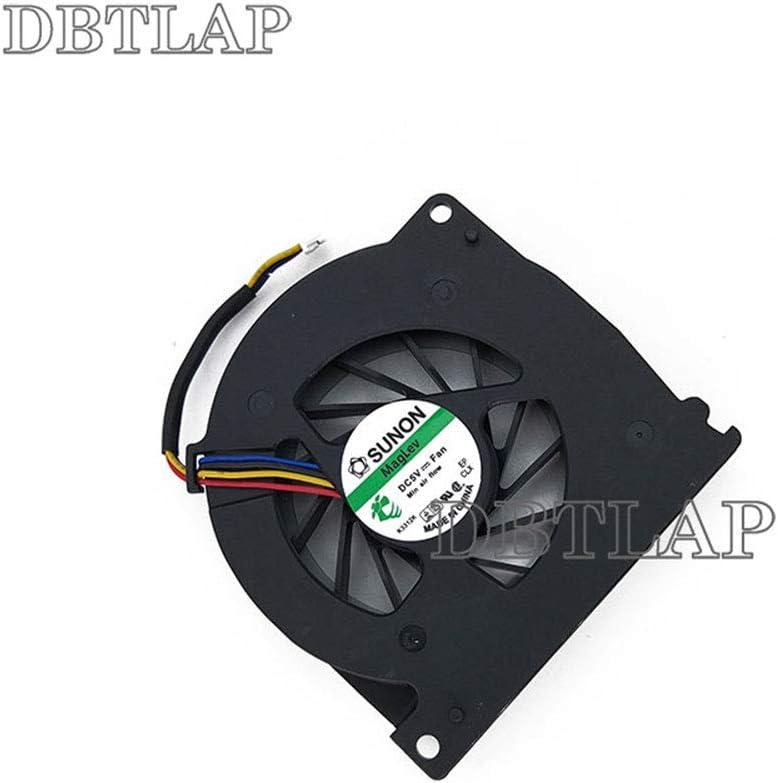 DBTLAP Laptop CPU Fan Compatible for Asus KSB06105HB A72JR A72JT A72JU X72JR X72JT X72JU K72DR X72DR X72F K72F K72J K72JB K72JR K72JT K72JU A72J X72JR A72JR A72JT CPU Cooling Fan