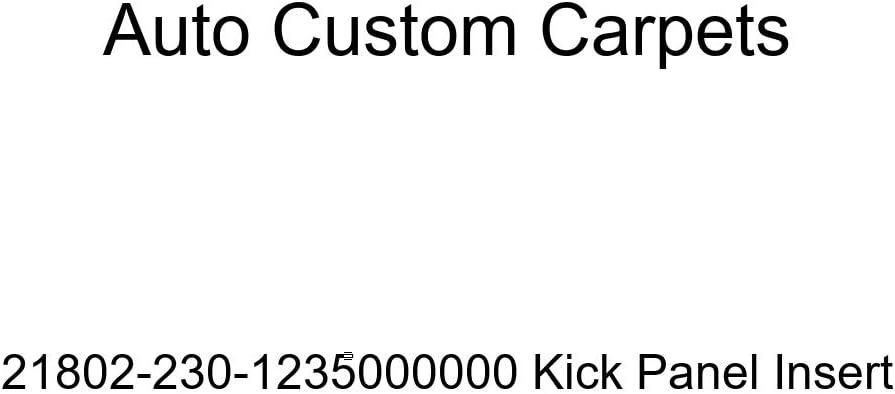 Auto Custom Carpets 21802-230-1235000000 Kick Panel Insert