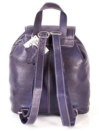 Oxbridge Satchel Shop - Bolso mochila  para mujer Morado morado mediano