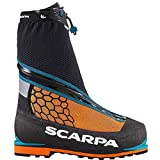 SCARPA Men's Phantom 6000 M Mountaineering Boot, Black/Orange, 46 EU/12 M US