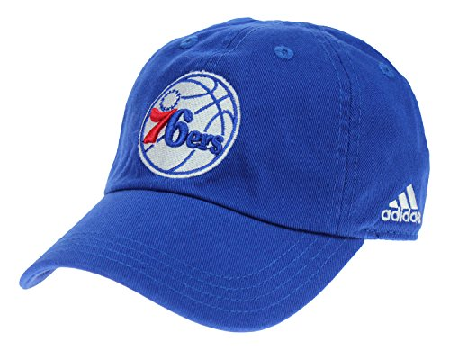 - adidas NBA Infants Philadelphia 76ers Adjustable Slouch Strap Cap, Blue
