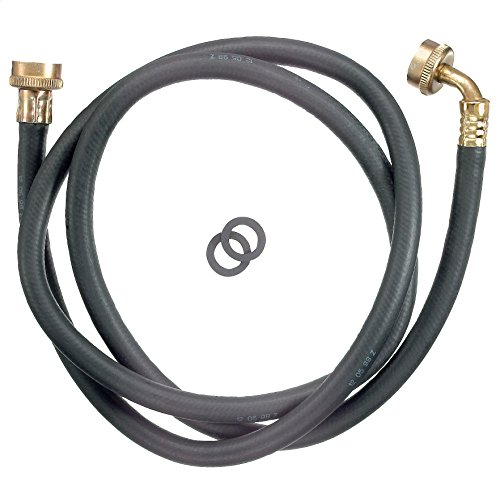 Plumb Pak PP850-6 Washing Machine Hose, 3/4 in X 6 Ft, Female, Rubber