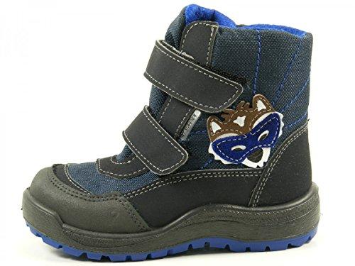 Ricosta 57-32900 Passo Schuhe Jungen Boots Stiefel Weite Weit Sympatex Blau