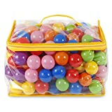 200 Ball Pit Balls Crush Proof Playballs in Bulks 7 Color 200 Packs