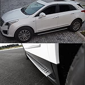 Amazon Com Stainless Steel Side Step Fit Cadillac Xt5 2016 2017