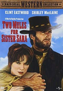 Book Cover: Two Mules For Sister Sara (1970)