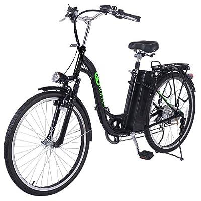 "Goplus® 26"" 250W Electric Bicycle Sporting Powered e-Bike 36V Lead Acid Battery"