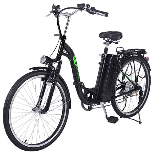 "Goplus 26"" 250W Electric Bicycle Sporting Powered e Bike 36V Lead Acid Battery"