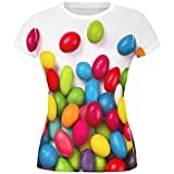jelly bean tshirt - Halloween Jelly Beans All Over Juniors T Shirt Multi MD