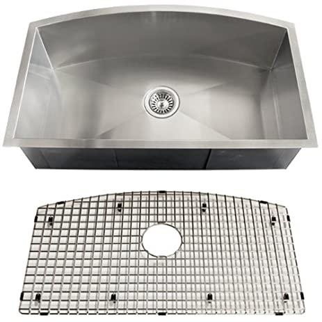 ticor royal stainless steel 16 gauge undermount kitchen sink ticor royal stainless steel 16 gauge undermount kitchen sink      rh   amazon com