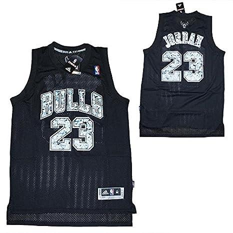 NBA Camiseta Tirantes Michael Jordan - Chicago Bulls - Edición Especial, Large: Amazon.es: Deportes y aire libre