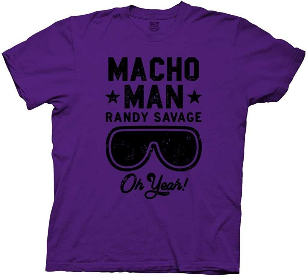 Ripple Junction WWE Macho Man Randy Savage Oh Yeah Adult T-Shirt