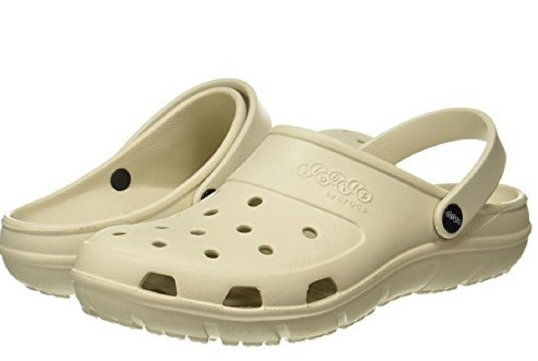 Crocs Jibbitz by, Unisex Presley Clog, Stucco Relaxed Fit, 10 B(M) US Women 8 D(M) US Men