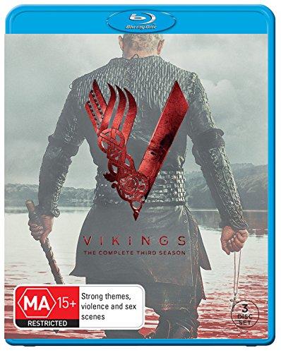 Vikings Season 3 | 3 Discs | NON-USA Format | Region B Import - Australia