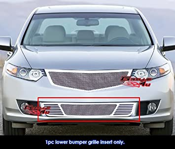 Amazoncom For Acura TSX Bumper Stainless Steel Mesh - Acura tsx bumper