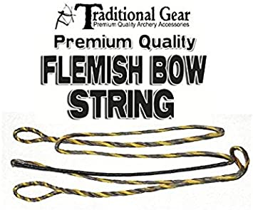 Flo Pink B50 Dacron Replacement Recurve Bowstring 16 Strand Bow String Actual String Length