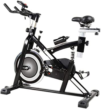 HLEZ Bicicleta Spinning dinámica Profesional, Sistema de ...