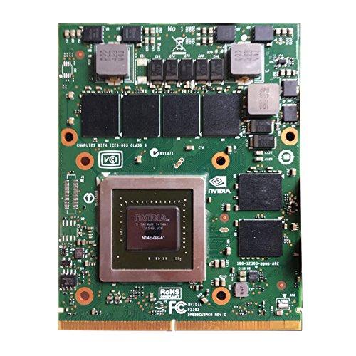 - Original 3GB Graphics Video Card Upgrade for Dell Alienware M15X R2 M17X R2 R4 M18X R2 R3 R4 R5 Gaming Laptop NVIDIA GeForce GTX 770M GTX770M MXM 3.0B VGA Board Replacement Repair Parts