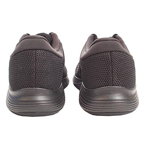 Nike Mens Revolution 4 Scarpa Da Corsa Nero Nero Bianco Antracite
