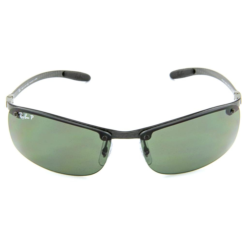 68a5cf8c8a Ray-Ban 8305 Carbon Lite Dark Carbon Polarised Sunglasses - size One Size  Ray  Ban  Amazon.co.uk  Clothing