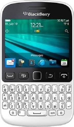 BlackBerry 9720 (White) Smartphones at amazon
